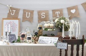 deco mariage table